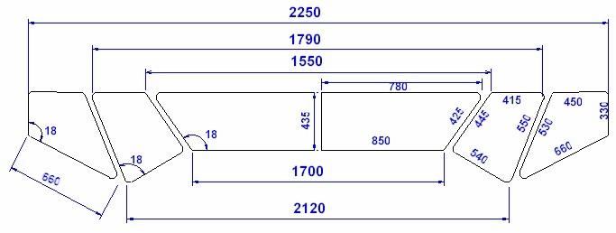 737 Windows Measurements