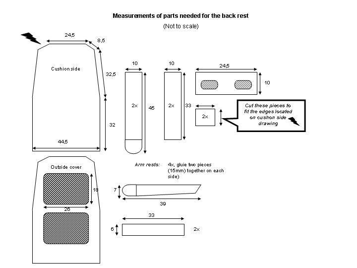 re Cockpit Seat Dimensions