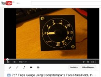 Flaps Gauge Working